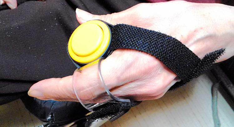 ナースコールボタンタイプの押しボタンスイッチ